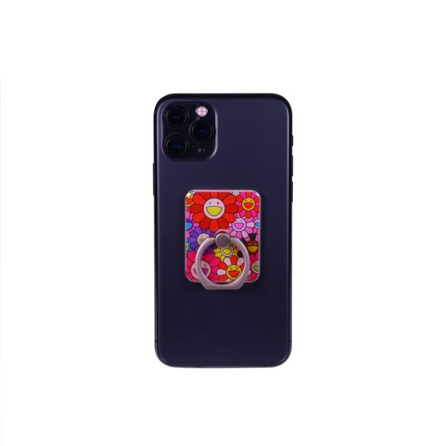 Flower Smartphone Ring(Red)