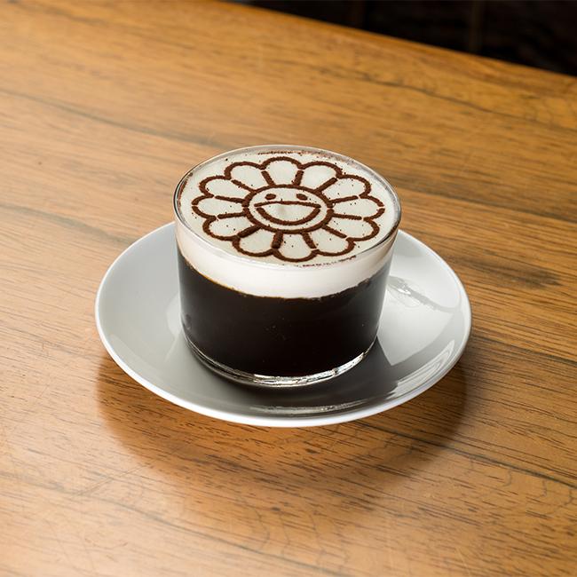 お花コーヒーゼリー