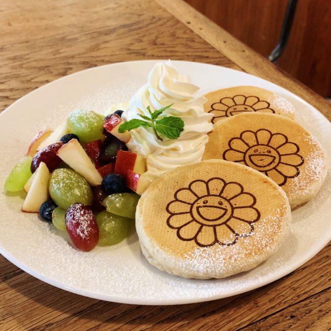 お花パンケーキ