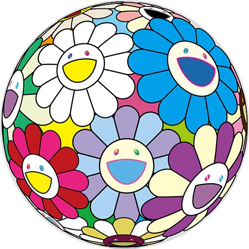 お祭りの飾り花