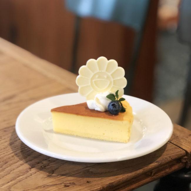 お花チーズケーキ