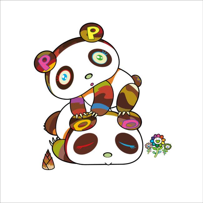 パンダちゃん。ホヨヨ、スヤスヤ。