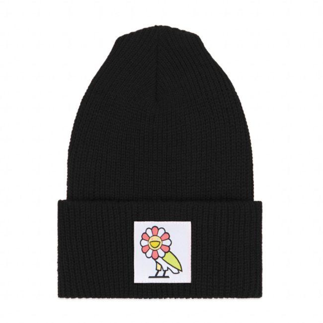 OVO X MURAKAMI WATCH CAP(BLACK)