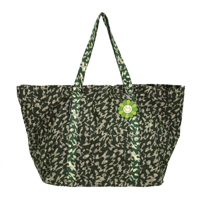 Camo Tote Bag / Tropical Como