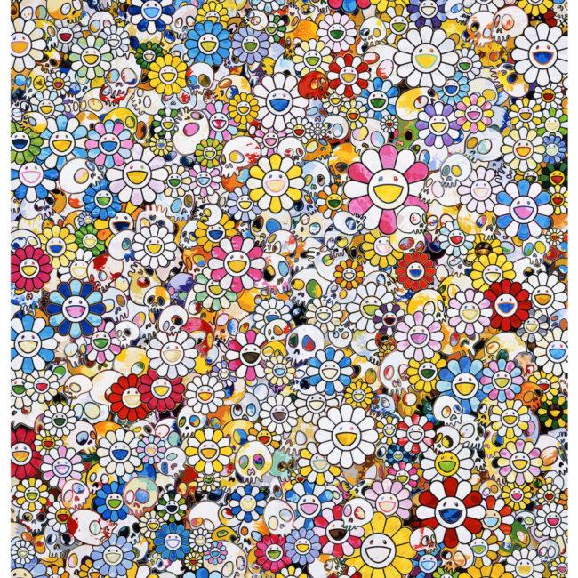 Skulls & Flowers Multicolor