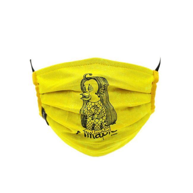 Amabie Mask / Bright Yellow (BK)