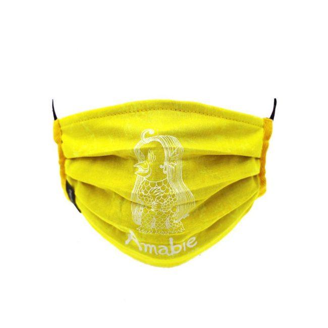 Amabie Mask / Bright Yellow (WH)