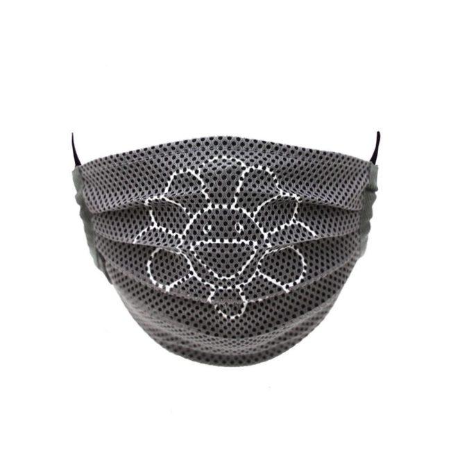 Mesh Flower Mask / Gray (WH)