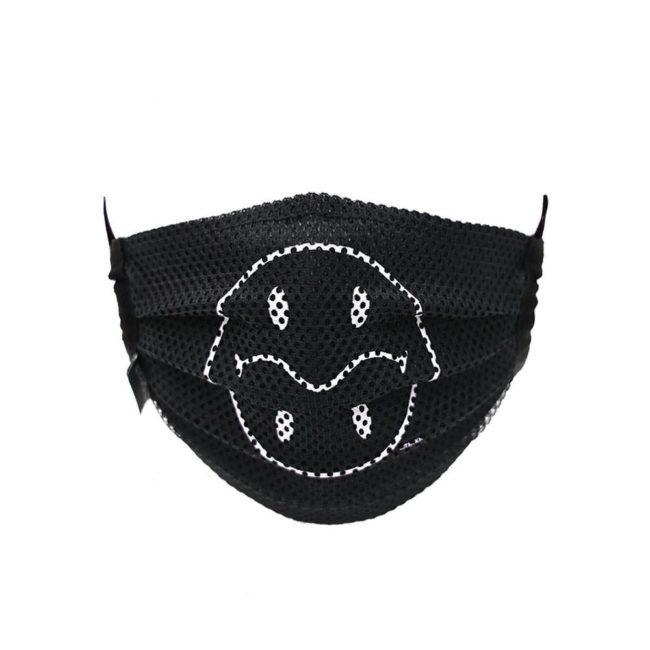 Mesh Smiley Mask / Black (WH)