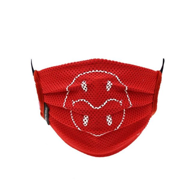 Mesh Smiley Mask / Red (WH)