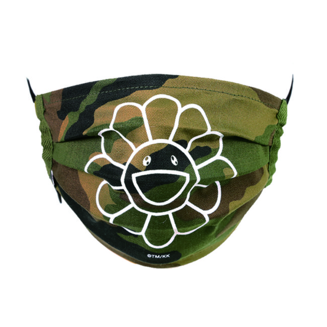 Flower Mask / Camouflage-B(WH)