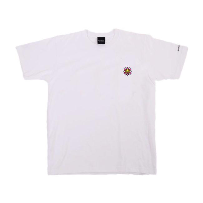 Murakami. Flowers #0000 M.F Emblem White