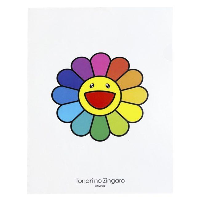 Clear File / Rainbow x Rainbow White